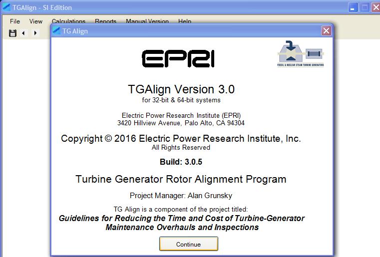 EPRI TGAlign 3.0 cracked