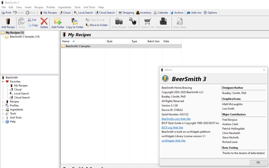 BeerSmith 3.1.8 Crack Full Version
