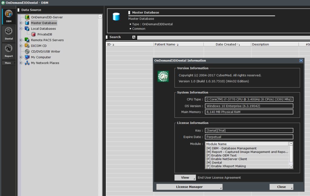 OnDemand3D Dental  v1.0.10.7510 Cybermed (Cracked license)